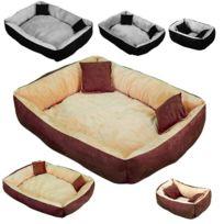 BEAUTYPET - Panier, lit, niche avec coussin pour chien et chat