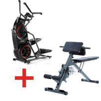 Bowflex - Pack Stepper Elliptique Max trainer M3 + Ab & Back Trainer