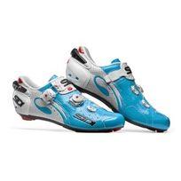 Sidi - Wire Air Carbon Blanche Et Bleue Chaussures Vélo route
