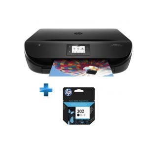 hp envy 4525 all in one printer 302 cartouche d 39 encre noire pas cher achat vente. Black Bedroom Furniture Sets. Home Design Ideas