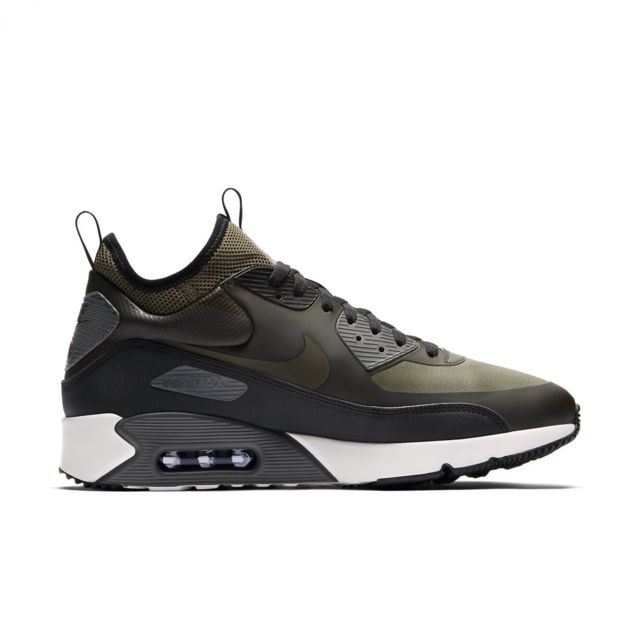 size 40 89f66 09fc5 Nike - Basket Air Max 90 Ultra Mid Winter - 924458-300 - pas cher Achat   Vente  Baskets homme - RueDuCommerce