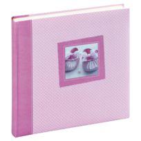 """Panodia - Album Photo Traditionnel 60 Pages """"Tilou"""" - Rose / Blanc"""