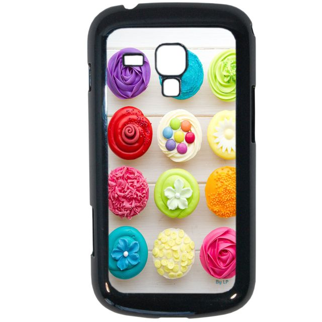 Lapinette - Coque Rigide Cupcakes Pour Samsung Galaxy Trend