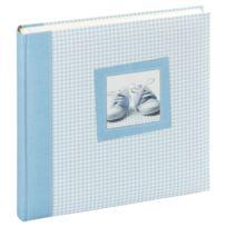 """Panodia - Album Photo Traditionnel 60 Pages """"Tilou"""" - Bleu / Blanc"""