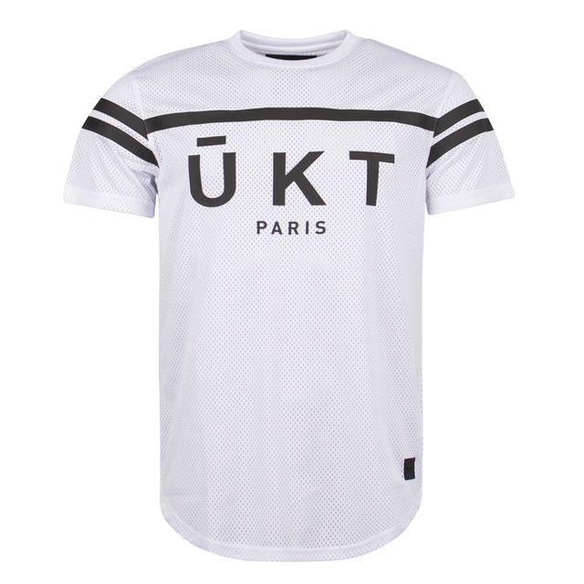 ed7fdff3c7623 Unkut - T-shirt Winger Blanc - pas cher Achat   Vente Tee shirt homme -  RueDuCommerce