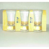 Kb8 - Mise en Bouche verre conique fond épais 6cl par 6