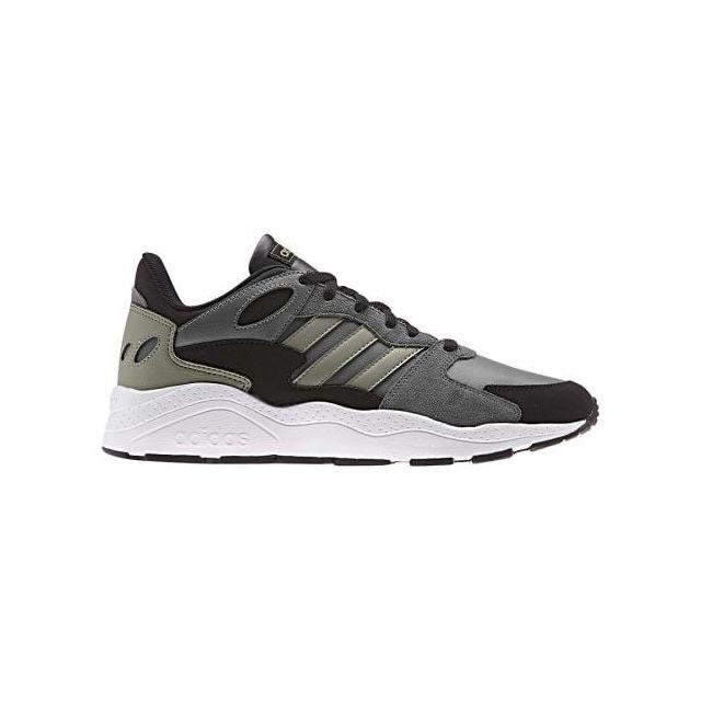 Adidas Chaussures Crazychaos gris foncé vert kaki noir