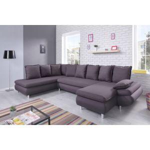 bobochic canap nesty panoramique gris 325cm x 90cm x 203cm gauche achat vente canap s pas. Black Bedroom Furniture Sets. Home Design Ideas