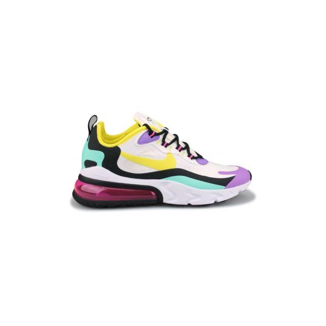 Nike Basket Wmns Air Max 270 React Blanc At6174 101 pas