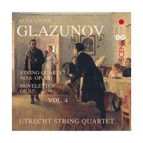 Mdg - Intégrale des Quatuors à cordes vol. 4 : Quatuor op. 106 & Novelettes op. 15