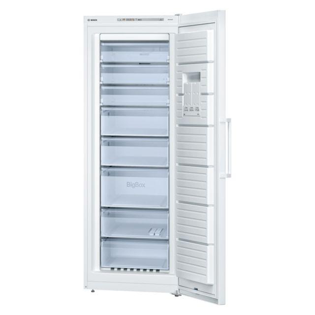 Bosch - congélateur armoire 70cm 360l nofrost a++ blanc - gsn58vw30