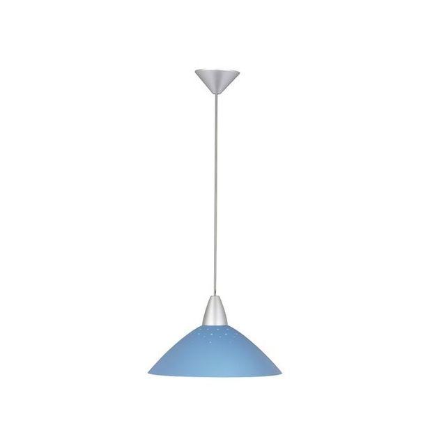 Brilliant Suspension fil Logo 1x60W E27 Turquoise 78270_73