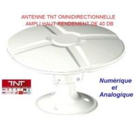 Antarion - Antenne Tnt camping car , caravane omnidirectionnelle 40DB Tonna