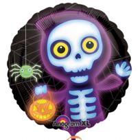 amscan ballon squelette halloween monsters - Squelette Halloween