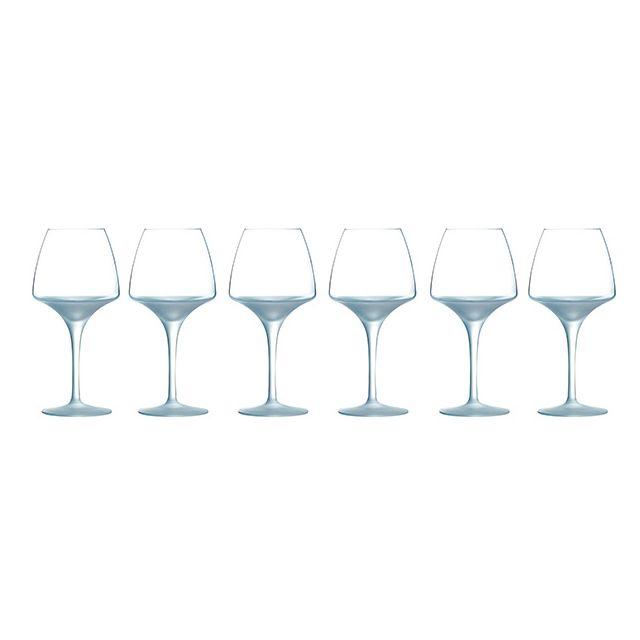 CHEF & SOMMELIER lot de 6 verres de dégustation pour vins 32cl - h2989