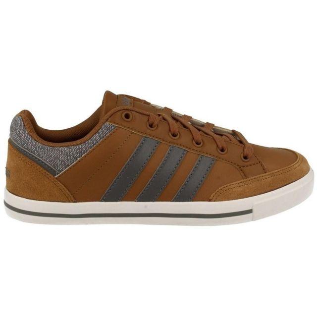 cd8de385e471d Adidas - Neo Cacity Marron - pas cher Achat   Vente Baskets homme -  RueDuCommerce