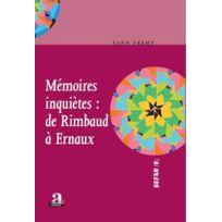 Academia - m2moires inqui7tes : de Rimbaud à Ernaux