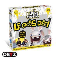 OBYZ - Lapins Cretins - Jeu de plateau - le gros défi - SMIJDP025