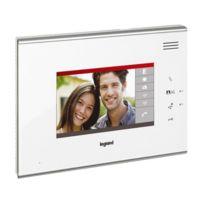 Legrand - Ecran complémentaire pour interphone vidéo blanc tactile 7