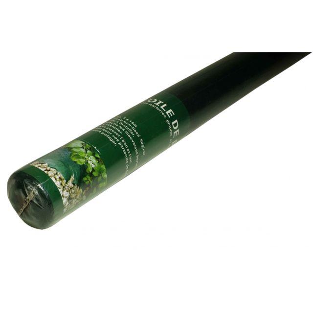 Tecplast Toile de paillage 1x15 m -50g /m² - Bâche de paillage - Toile non tissée avec un traitement anti Uv