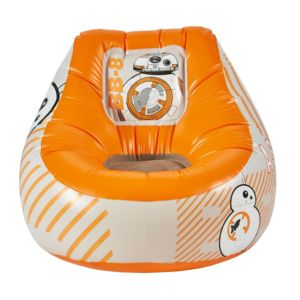 worlds apart pouf gonflable star wars bb 8 orange pas cher achat vente poufs rueducommerce. Black Bedroom Furniture Sets. Home Design Ideas