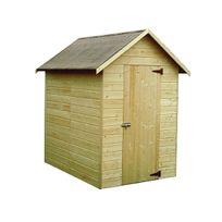 Decoretjardin - Abri de jardin bois Ambéal 12 mm - 1,98 m²