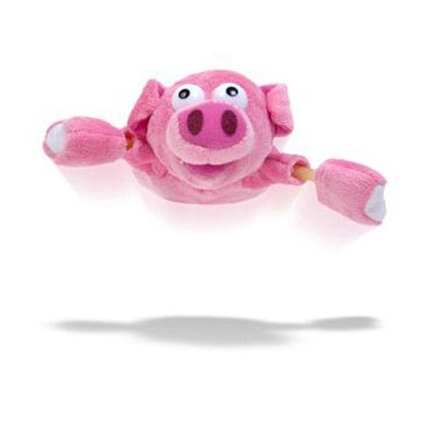 Totalcadeau - Peluche cochon volant porc catapulte