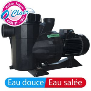 Piscine center o 39 clair pompe piscine pcclair 1 5 cv mono for Pompe piscine 1 5cv