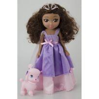 Lgri - Poupée Il était une fois les princesses : Princesse Lisa et son petit caniche