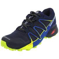Femme Speedcross Vario 2 GTX Chaussures de Course à Pied Et Trail Running, Synthétique/Textile, Bleu, Pointure: 41 1/3Salomon