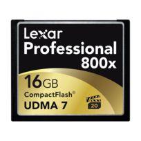 Lexar - Compact Flash 16 Go 120 Mo/s 800X