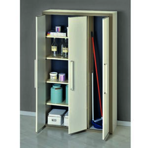 garofalo armoire haute modulable en r sine 3 portes. Black Bedroom Furniture Sets. Home Design Ideas