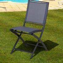 chaise pliante aluminium - achat chaise pliante aluminium pas cher ... - Chaise De Jardin Pliante Aluminium