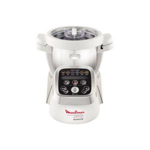 MOULINEX - Robot cuiseur Companion HF800A10 Blanc / Silver