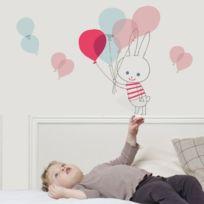 Art For Kids - Sticker lapin ballon de Shinzi Katoh