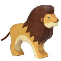 Holztiger - Figurine en bois : Animaux de la Jungle : Lion