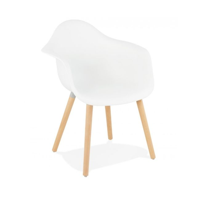 Kokoon Design Fauteuil design Cloud White 50x62x80 cm