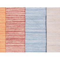 Beliani - Tapis rectangulaire en coton - beige - 80x150 cm - Derince