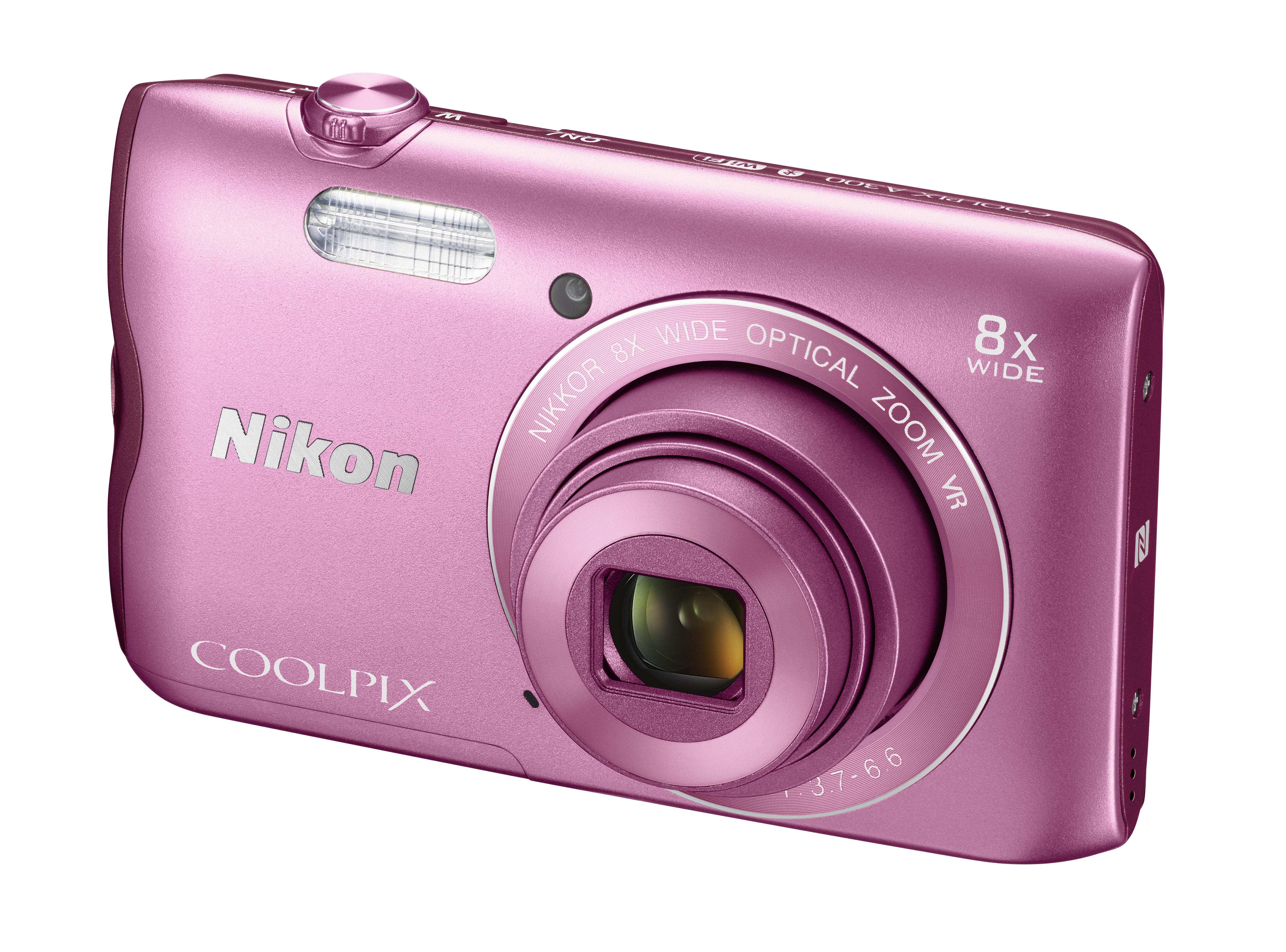 appareil photo compact - coolpix a300 rose