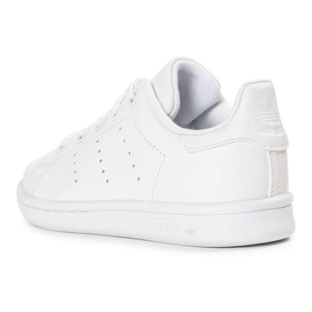 Basket Adidas Stan Smith Enfant Blanc Blanc Achat