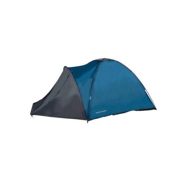2910462f22cf7 Dunlop - Tente 3 Personnes Bleu - pas cher Achat / Vente Tentes camp de  base - RueDuCommerce