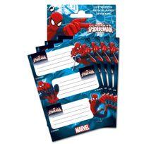 Spider-man - Marvel - 12 étiquettes autocollantes - Ultimate