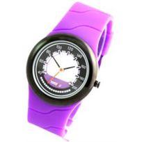 Time2u - Montre Silicone Violet Citizen 1166