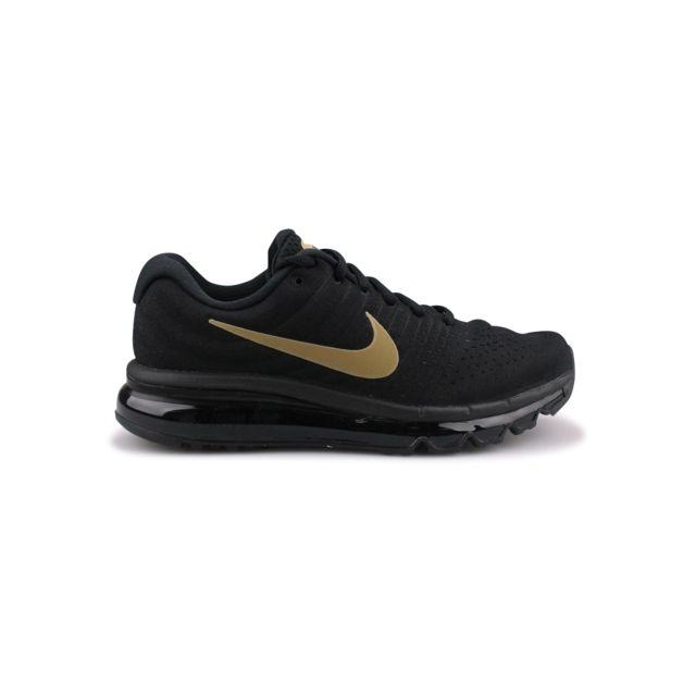 new product d4f77 4cb09 Nike - Air Max 2017 Junior Noir 851622-010 - pas cher Achat   Vente Baskets  enfant - RueDuCommerce