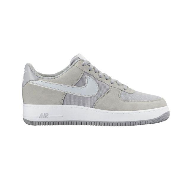 Nike - Basket Air Force 1 Gris 488298-090-39.5 - pas cher Achat   Vente  Baskets homme - RueDuCommerce 4c63369c4ac1