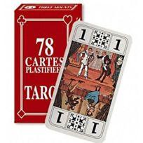 17019a6674170 Sans - Jeu de 78 Cartes de Tarot plastifiées avec Notice - Carte Jouer  Atouts -