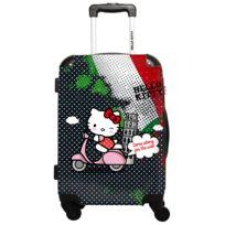 Ikase - Hello Kitty - Around The World Italie pois blanc - Impression Multicouleurs - 50 cm Gris