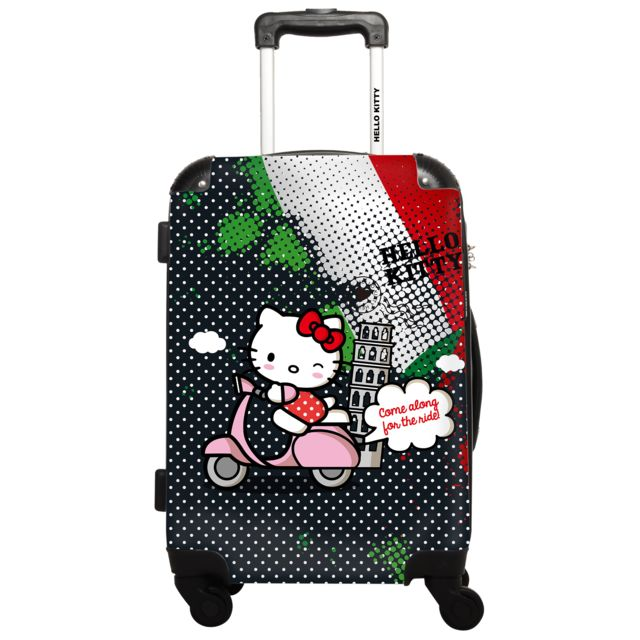 ikase valise hello kitty 60 cm rose pas cher achat vente valises trolleys rueducommerce. Black Bedroom Furniture Sets. Home Design Ideas