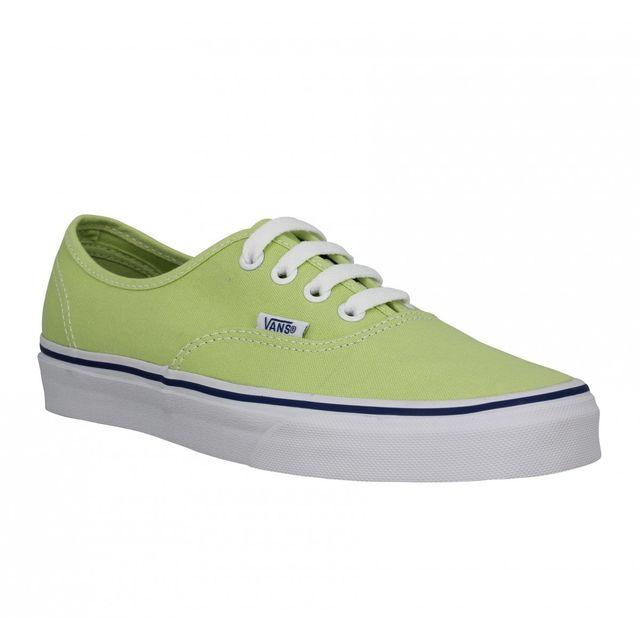 vans femme vert