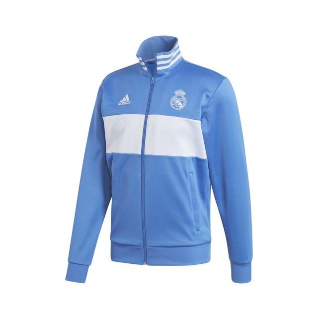 Veste Adidas Real Madrid Homme pas cher promotion petit